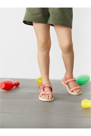 Zara Sandały z tkaniny technicznej