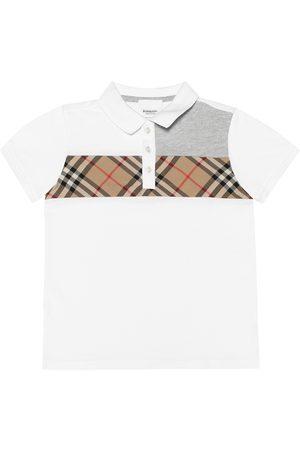Burberry Dziewczynka Koszulki polo - Vintage Check cotton polo shirt