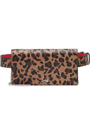 Christian Louboutin Boudoir leopard-print leather belt bag