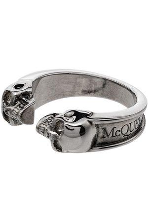 Alexander McQueen Mężczyzna Pierścionki - Silver