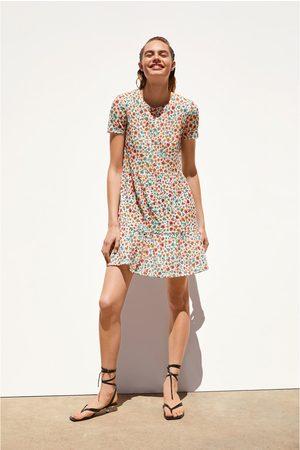 Zara Sukienka z tkaniny strukturalnej