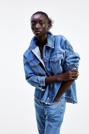 Zara Kurtka koszulowa zw premium denim mic blue