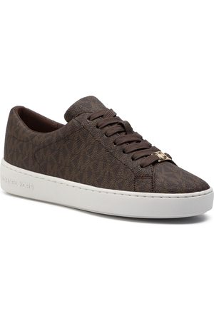 Michael Kors Sneakersy - Keaton Lace Up 43R5KTFP1B Brown