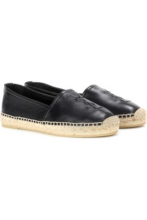 Saint Laurent Leather slip-on loafers