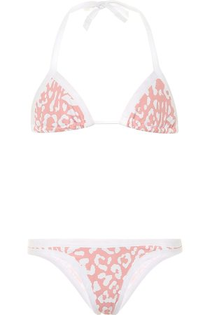 Reina Olga Exclusive to Mytheresa – Piper leopard-print bikini set