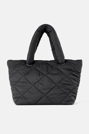 Zara Pikowana torba typu shopper