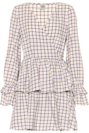 Baum und Pferdgarten Exclusive to Mytheresa – Ailin checked cotton minidress