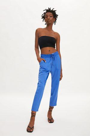 Zara Luźne spodnie