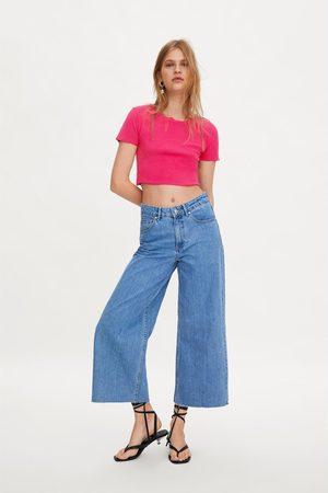 Zara Koszulka o krótszym kroju