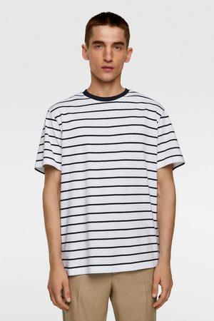 Zara Koszulka w paski z kolekcji basic