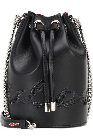 Christian Louboutin Marie Jane leather bucket bag