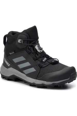 adidas Buty - Terrex Mid Gtx K GORE-TEX EF0225 Cblack/Grethr/Cblack