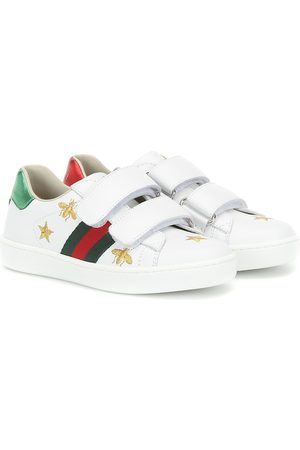 Gucci Ace embroidered leather sneakers