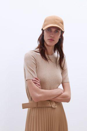 Zara Sweter z krótkim rękawem z kolekcji basic