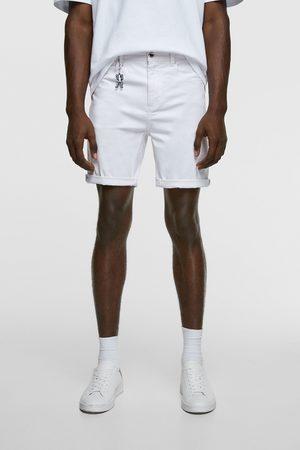 Zara Bermudy z kolekcji basic new skinny