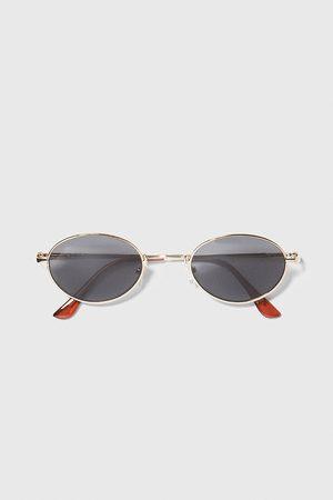 Zara Okulary przeciwsłoneczne w okrągłej oprawce