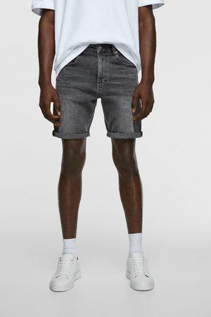 Zara Mężczyzna Bermudy - Bermudy z kolekcji basic