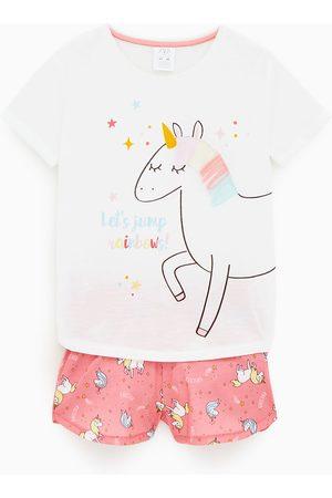 Zara Dziecko Piżamy - Piżama w jednorożce