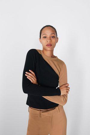 Zara Wielobarwny sweter