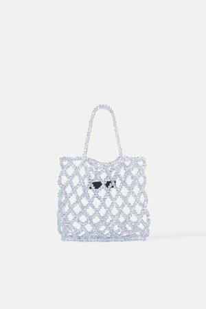 Zara Mini torebka z biżuteryjnym zdobieniem