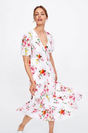 Zara Sukienka w kwiaty