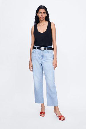 Zara Koszulka na ramiączkach z kolekcji basic