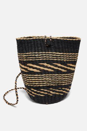 Zara Torba typu plecak w kolorze naturalnym ze specjalnej edycji