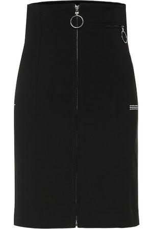 OFF-WHITE Kobieta Spódnice - High-waisted skirt