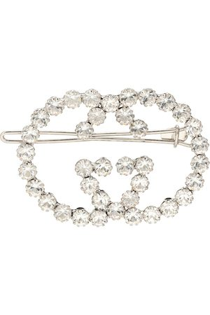 Gucci GG embellished hair clip