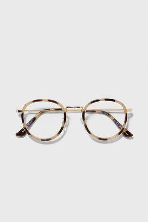 Zara Okulary w szylkretowej oprawce