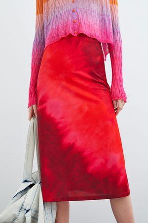 Zara Tie-dye skirt