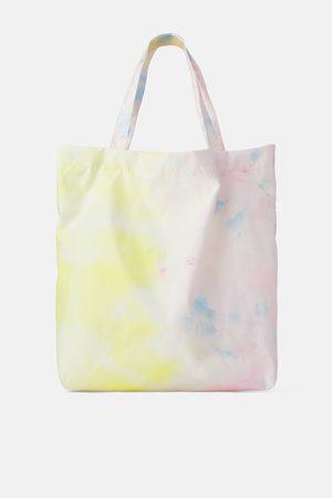 Zara Torba typu shopper z recyklowanego materiału farbowanego metodą tie dye