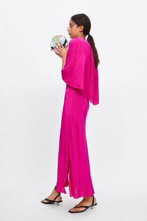 Zara Luźna dwuwarstwowa sukienka