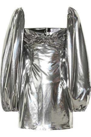 The Attico Metallic minidress