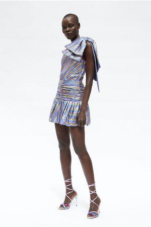 Zara Spódnica mini w paski
