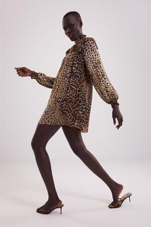 Zara Sukienka w zwierzęcy deseń