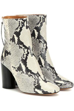 Isabel Marant Kobieta Botki - Garrett leather ankle boots