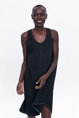 Zara Sukienka z efektem sprania