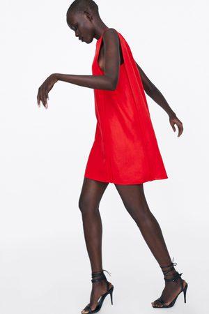 Zara Sukienka z klapami