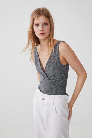 Zara Body z metalizowaną nicią