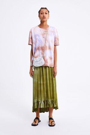 Zara Koszulka farbowana metodą tie & dye