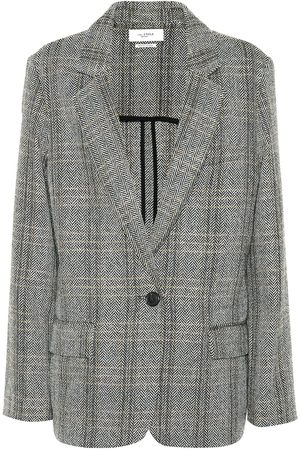 Isabel Marant, Étoile Charly checked wool blazer