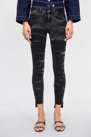 Zara Jeans z1975 skinny tie & dye