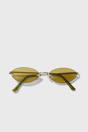 Zara Okulary przeciwsłoneczne w owalnej oprawce