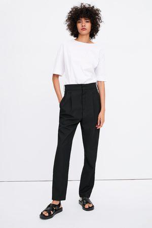 Zara Kobieta Na plaskiej podeszwie - Sandały na płaskiej podeszwie w stylu minimalistycznym join life