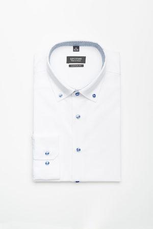 Recman Mężczyzna Z długim rękawem - Koszula bexley 2533 długi rękaw custom fit