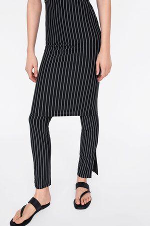 Zara Spodnie w paski