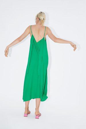 Zara Sukienka z wiązaniem