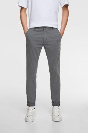 Zara Mężczyzna Chinosy - Spodnie rurki typu chinosy
