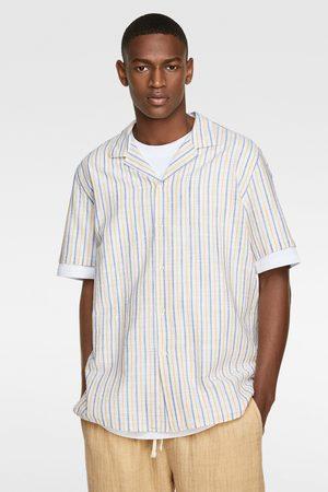 Zara Mężczyzna Koszule - Koszula w paski